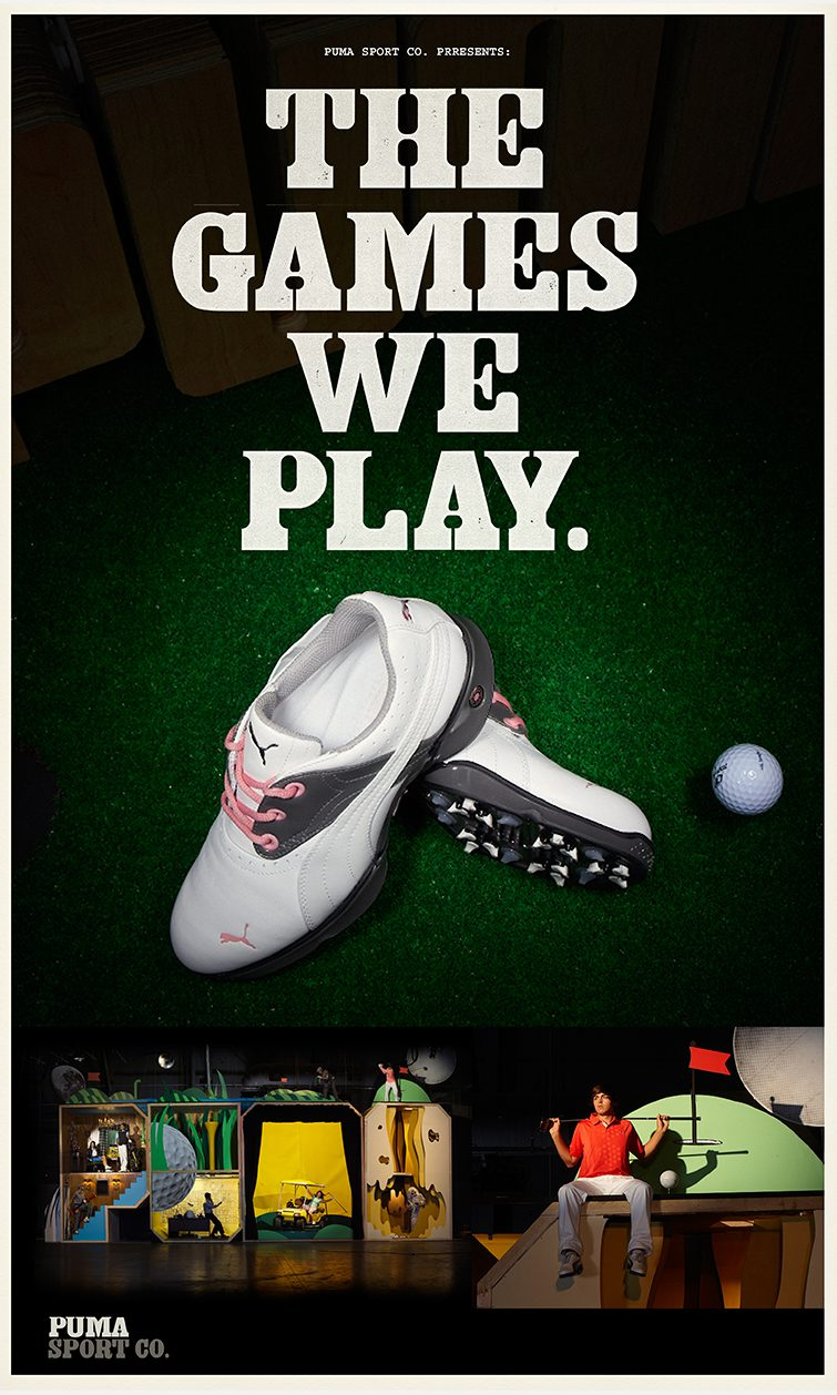 "Puma ""The Games We Play"""