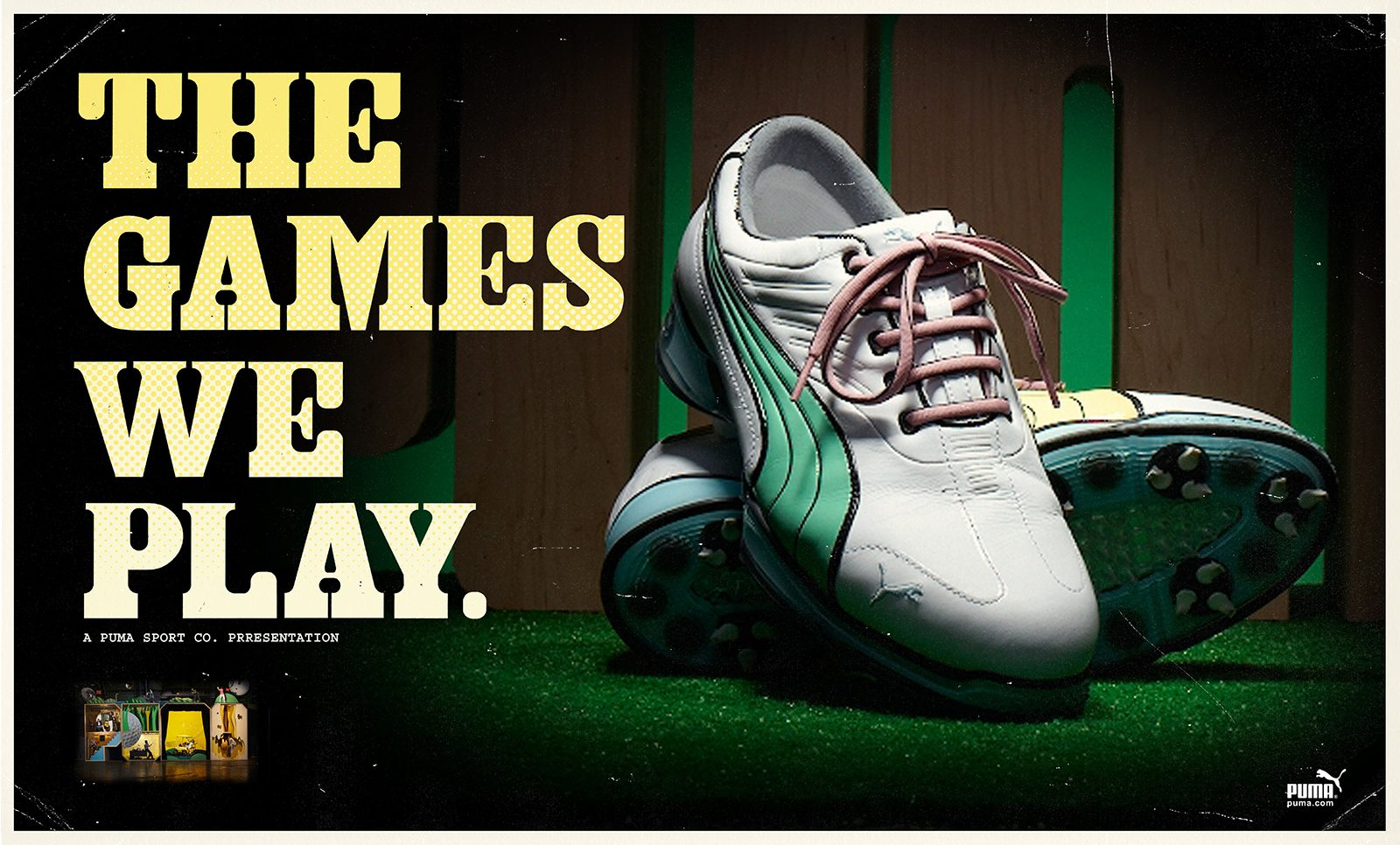 """Puma """"The Games We Play"""""""