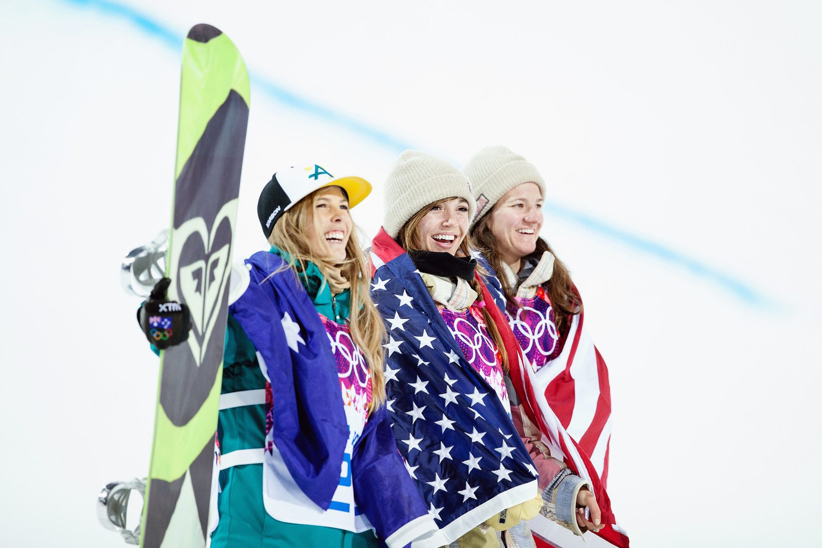 2014 Olympic Winter Games - Sochi, Russia. Women's halfpipe snowboarding Photo: Sarah Brunson/U.S. Snowboarding