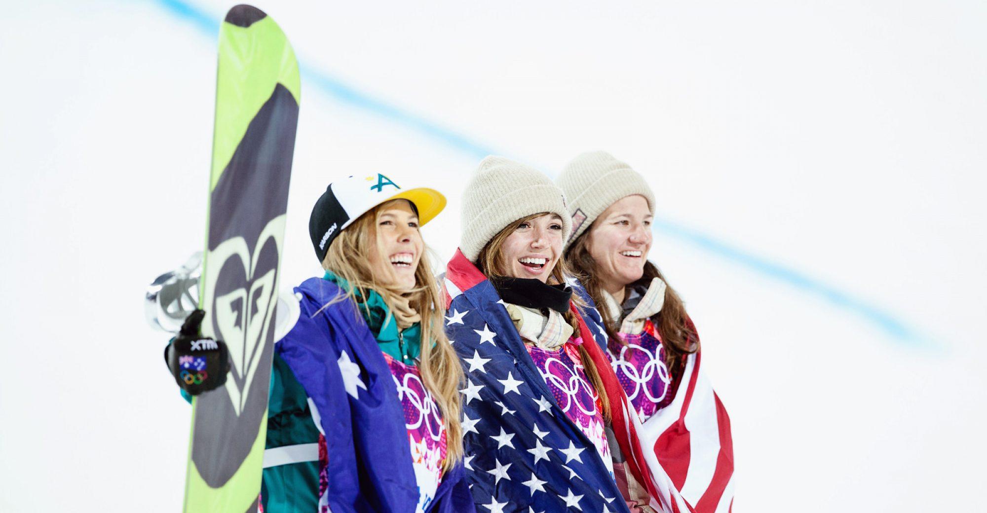 2014 Olympic Winter Games - Sochi, Russia. Women's halfpipe snowboarding Photo: Sarah Brunson/U.S. Snowboarding