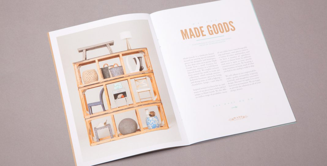 New Made Goods Catalog